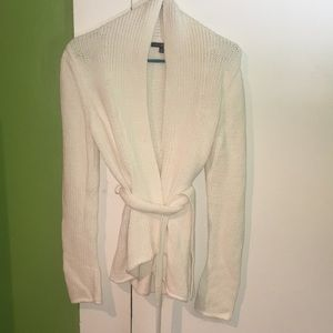 Gap cotton wrap around sweater